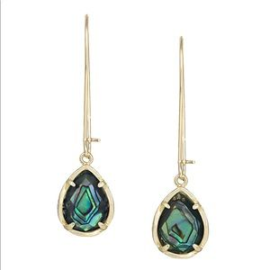 *No buy*ISO Kendra Scott gold Dee abalone earrings